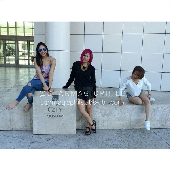 #ASAPLiveinLA: Star Magic celebrities behind the camera