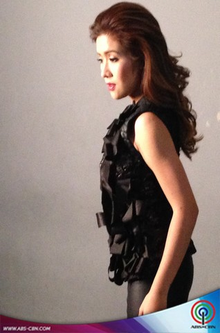 BEHIND THE SHOOT OF STAR MAGIC CATALOGUE 2015: Angeline Quinto