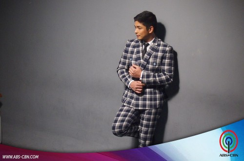 BEHIND THE SHOOT OF STAR MAGIC CATALOGUE 2015: Coco Martin