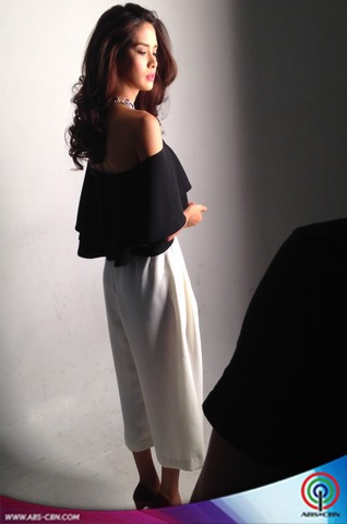 BEHIND THE SHOOT OF STAR MAGIC CATALOGUE 2015: Erich Gonzales