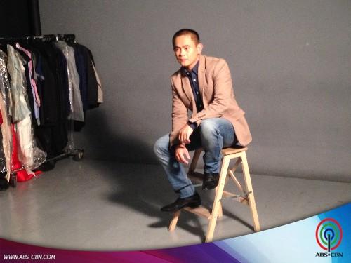 BEHIND THE SHOOT OF STAR MAGIC CATALOGUE 2015: Jayson Gainza