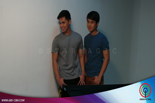 BEHIND THE SHOOT OF STAR MAGIC CATALOGUE 2015: Jerome Ponce & Marlo Mortel