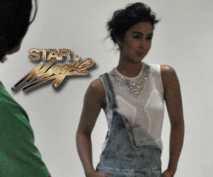 BEHIND THE SHOOT OF STAR MAGIC CATALOGUE 2015: Julia Barretto