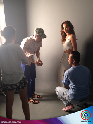 BEHIND THE SHOOT OF STAR MAGIC CATALOGUE 2015: Maja Salvador