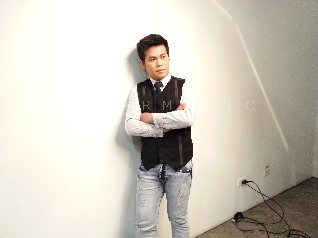 BEHIND THE SHOOT OF STAR MAGIC CATALOGUE 2015: Marcelito Pomoy