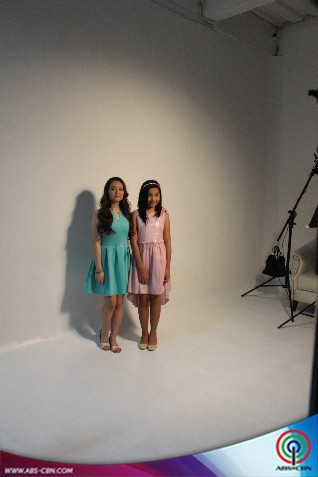Behind The Shoot Of Star Magic Catalogue 2015 Mika Dela Cruz And Kyline Alcantara