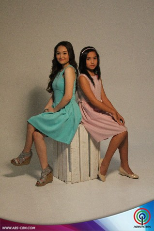 BEHIND THE SHOOT OF STAR MAGIC CATALOGUE 2015: Mika dela Cruz and Kyline Alcantara