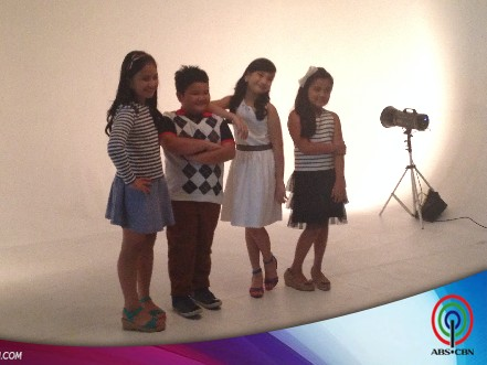 BEHIND THE SHOOT OF STAR MAGIC CATALOGUE 2015: The Star Magic Kids