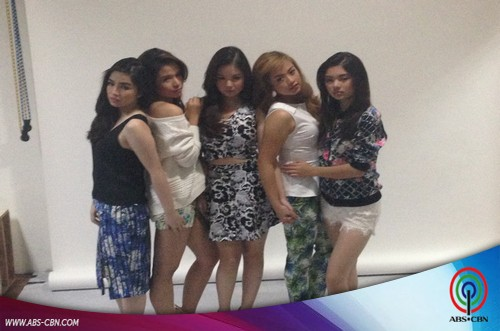 BEHIND THE SHOOT OF STAR MAGIC CATALOGUE 2015: Angeli, Kristel, Celine, Trina & Eliza