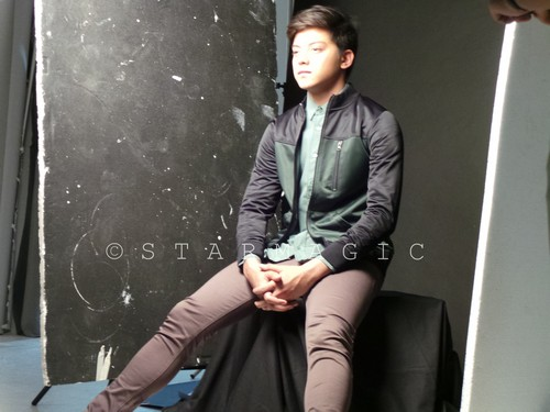 Behind-the-scenes photos of Daniel Padillas 100 Most Beautiful Pictorial