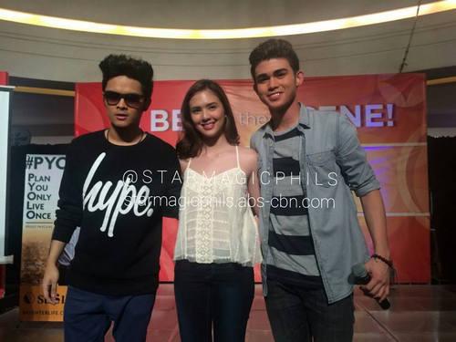Iñigo, Sofia at Julian, pinakilig ang mga taga-Bacoor!