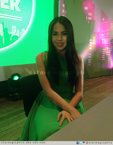 Julia Montes graces Sunsilk Dream Starter Fair in Trinoma