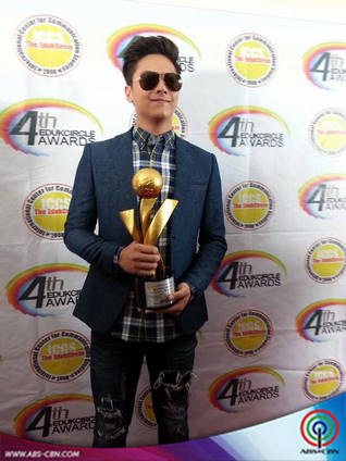KathNiel awarded as the Most Influential Teen Actress and Actor by the 4th EdukCircle Awards