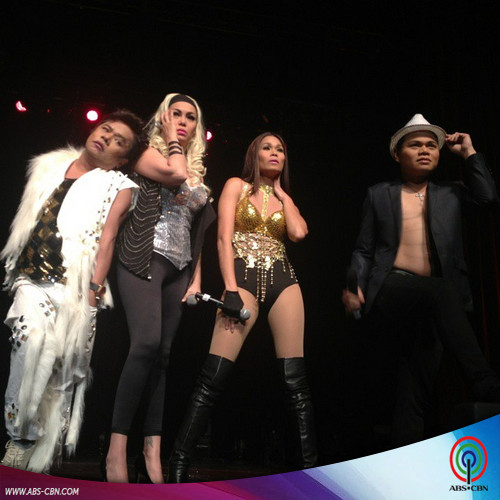 Laugh trip with Pokwang, K Brosas, Chokoleit and Poooh in #4DaLaffsChicago