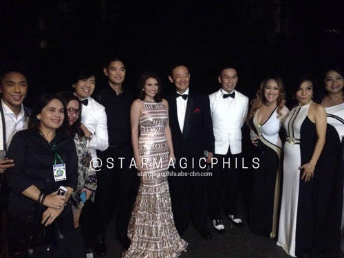 PHOTOS: Star Magic arists at the Quezon City Diamond Jubilee Celebration