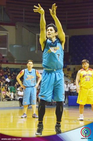 PHOTOS: Star Magic vs Pasay Barangay Captains in a Charity Basketball Game