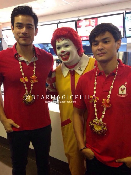 PHOTOS: Xian and Matteo at the turnover of Bahay Bulilit