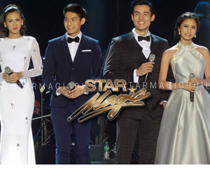 Star Magic artists bag awards at the Himig Handog P-pop love songs 2014