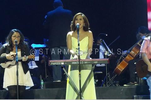 Star Magic artists bag awards at the Himig Handog P-pop love songs 2014