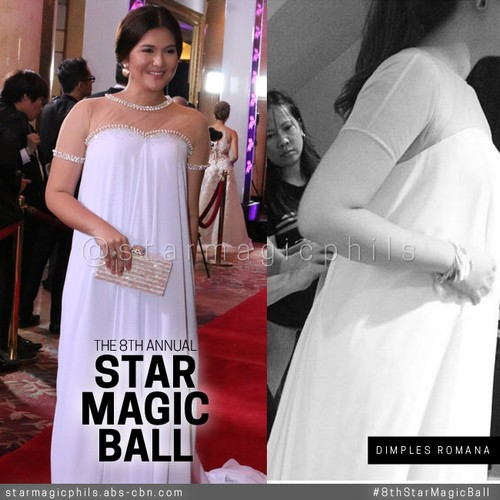 The stars behind the #8thStarMagicBall gown and suit fitting teaser